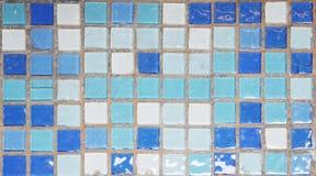 Tile brick wall background Stock Photos