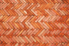 Tile bricks floor Stock Image