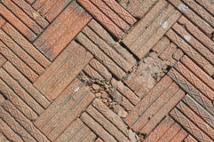 Tile bricks floor Stock Photo