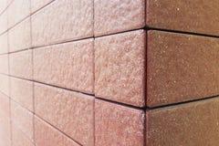 Tile. Brown decor royalty free stock photo