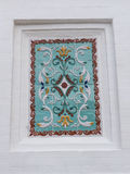 Tile from Cathedral of the Dormition Stock Photo