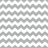 Tile chevron vector pattern with white and gray zig zag background. For seamless decoration wallpaper Royalty Free Stock Photos