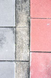 Tile colour with block Stock Photography