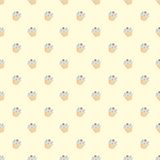 Tile vector cupcake pattern Stock Photo