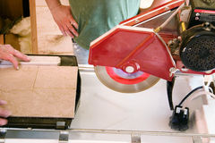 Tile Cutter Stock Image