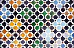 Free Tile Decoration, Alhambra Palace Royalty Free Stock Photography - 53346837