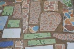 Tile floor Stock Image