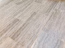 Tile floor newly installed in my bathroom royalty free stock photo