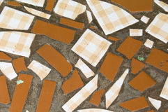 Tile floor patterns in nicaragua Stock Photography