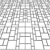 Tile Floor Vector 09 Royalty Free Stock Photos