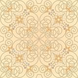 Tile with floral motive Stock Image