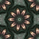 Tile Flower Abstract Royalty Free Stock Images