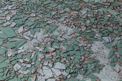 Tile fragments Stock Photo