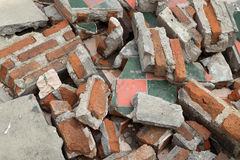 Tile fragments Stock Image