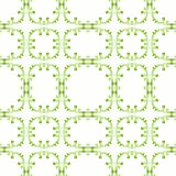 Tile Frames Seamless Pattern. Romantic baroque green tile frames background seamless pattern Royalty Free Stock Photo