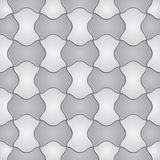 Tile geometric seamless pattern. Vector Royalty Free Stock Images