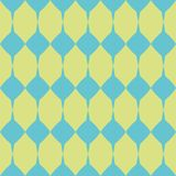 Tile green and blue vector pattern Royalty Free Stock Images