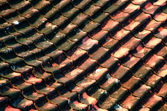 Tile house Stock Images