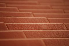 Tile line pattern on a roof top stock photos