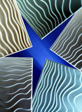 Tile looks like star Royalty Free Stock Photos