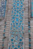 The tile of Malatya Grand Mosque, Turkey. Royalty Free Stock Photo