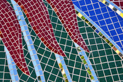 Tile and mirror Mosaics texture background Stock Photography