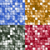 Tile Mosaic Backgrounds Stock Images