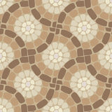 Vector tile mosaic floor, stone pattern Stock Photo