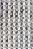 Tile Mosaic forming 3D Geometric Pattern Royalty Free Stock Photo