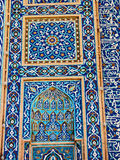 Tile mosaic, Jameh Mosque Stock Image