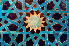 Tile mosaic panel Stock Image
