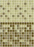 Tile mosaic square decorated with glitter golden texture background Royalty Free Stock Photo