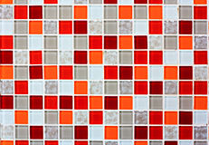 Tile mosaic tile background stock photos