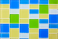 Tile mosaic tile background stock photo