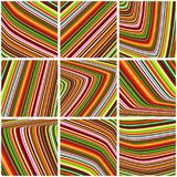Tile in a motley stripes. Striped vector pattern. Tile in a bright motley stripes. Striped vector graphic pattern Stock Images
