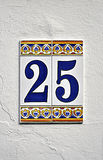 Number twenty five Stock Images