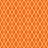 Tile orange and white vector pattern Royalty Free Stock Photography
