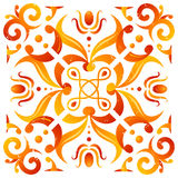 Tile Ornament Vector Pattern Stock Image