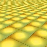 Tile pattern. Yellow tile pattern Royalty Free Stock Photo