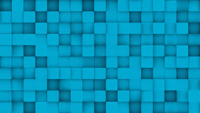 Tile pattern, 3d vector background Royalty Free Stock Photography