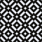 Tile patterns. Display of black and white bathroom tiles Stock Image