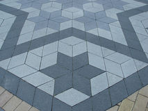 Tile pavement Royalty Free Stock Photography
