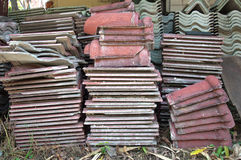Tile Pile Stock Photography