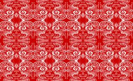 Tile in red Stock Photography