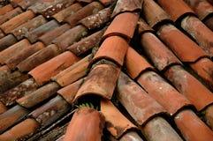 Tile Roof. Corner stock image