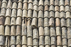 Tile roof. Royalty Free Stock Image