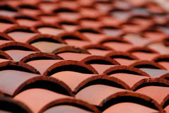 Tile Roof. Clay Tile Roof at the Boise Depot Stock Photography