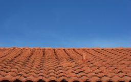 Tile Roof 3 royalty free stock image