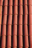 Tile Roof. Ceramic Tile Roof Royalty Free Stock Images