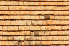 Tile on the roof Royalty Free Stock Images